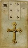 Lenormand Cross Card