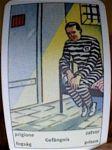 Art Deco fortune telling Prison card
