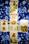 Lenormand in Mini Celtic Cross layout