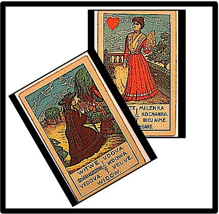 Sweetheart with Widow as crossing card