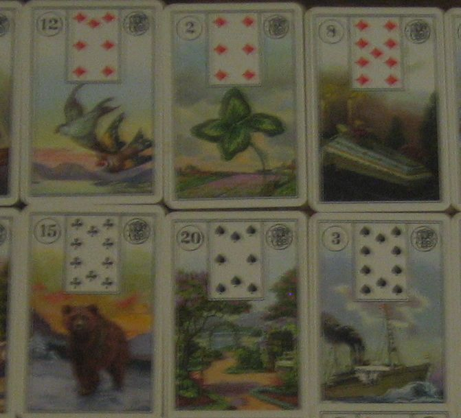 Mlle. Lenormand Cartomancy Deck