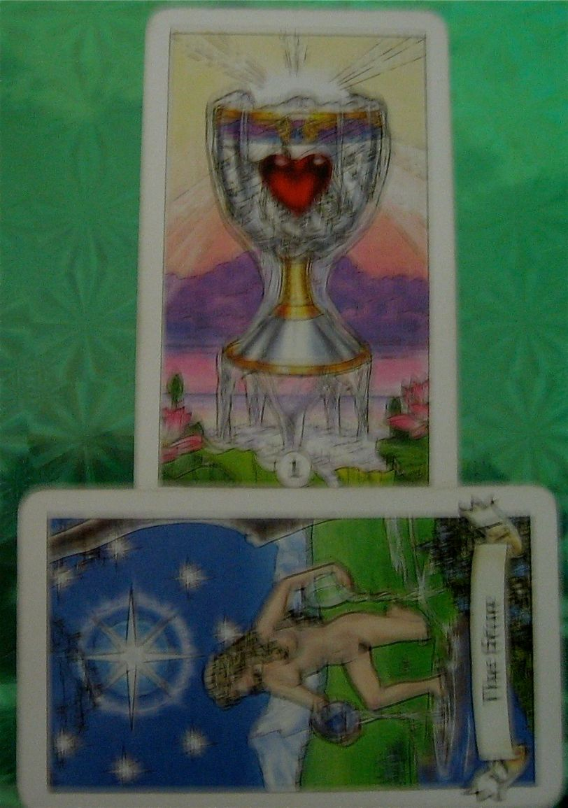 daily energy of Two Card Tarot reading   Ask my Cards