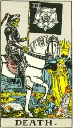 Illustrations of 1910 Rider Deck are public domain