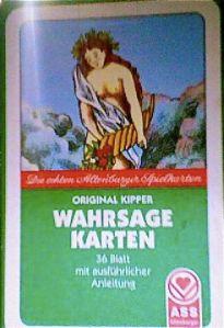 Original Kipper Wahrsagekarten
