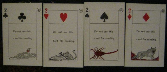 The 2 cards