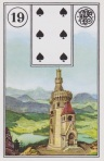 TOWER. 6 of Spades