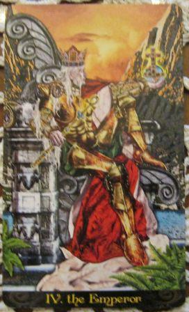 Emperor Tarot Illuminati