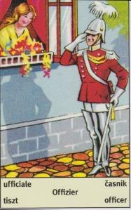 Art Deco fortune telling Officer