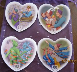 Image b: Four Hearts spread Reading