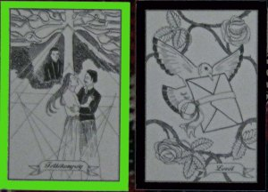 Jealousy + Letter Hungarian Gipsy cards
