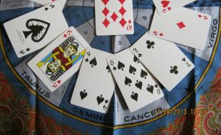 Astrology bottom half layout gong hee fot choy cards
