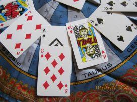 House 1: Ace of Spades + 8 of Diamonds