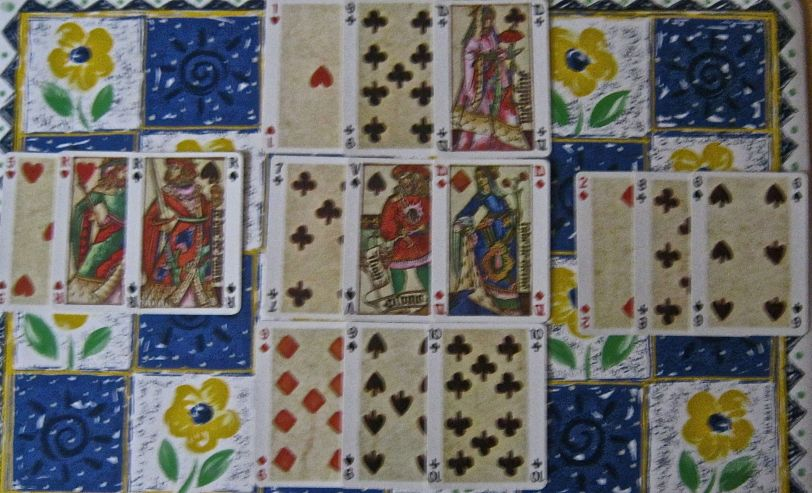 15 card layout from Card Readers Handbook.