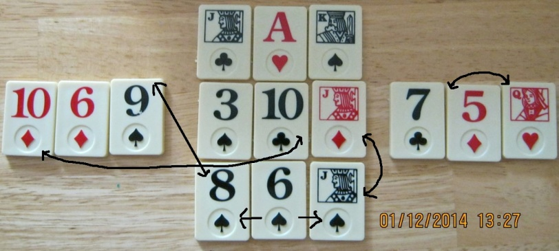 15 card Regina Russell system. Jan 12:14