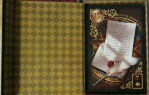 Gilded Reverie Lenormand. #27 The Letter by Ciro Marchetti.