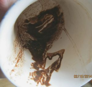HEART in cup