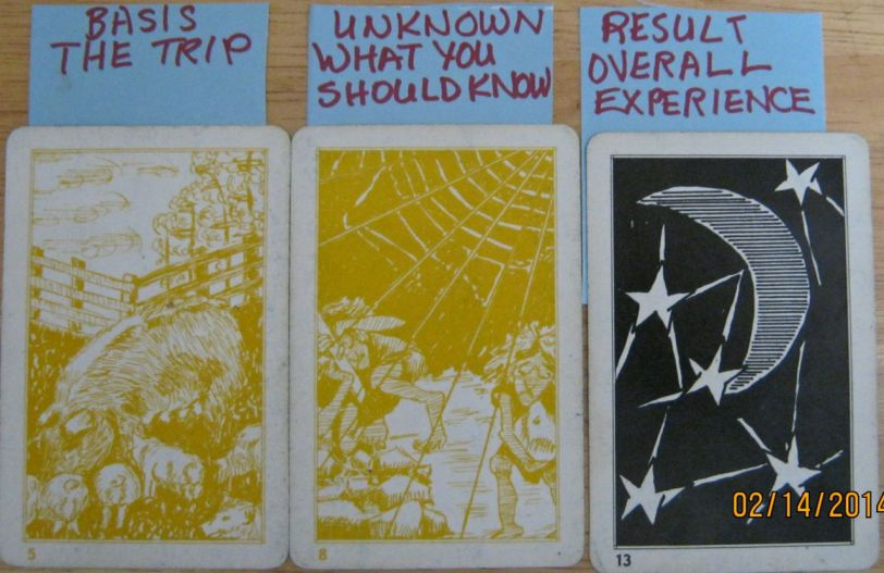 Pages of Shustah cards