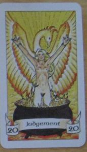 Robin Wood Judgement card