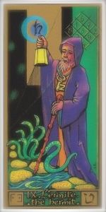 Masonic Tarot Hermit card