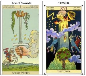 aceSword.Taower.New Vision Tarot.
