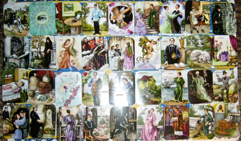 Reading Pairs with the 36 Gipsy (Zigeuner) Cards
