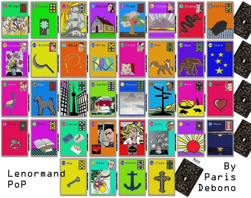 Lenormand Pop by Paris Debono
