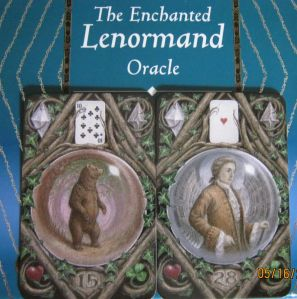 enchanted lenormand bear and gentleman