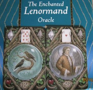 enchanted lenormand birds and gentleman