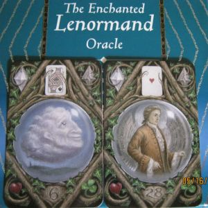 enchanted lenormand clouds and gentleman
