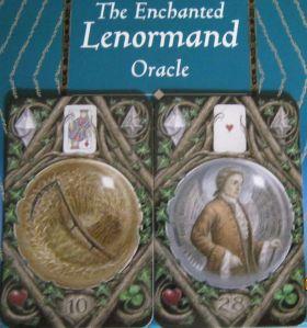 enchanted lenormand scythe and gentleman