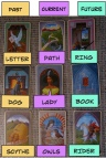 Block of 9. Mystical Lenormand