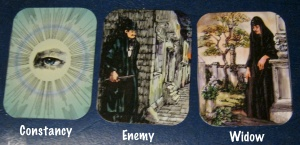 constancy, enemy, widow