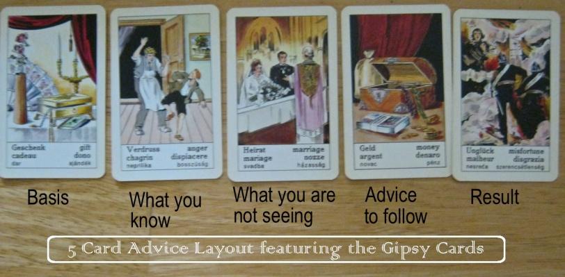 Piatnik Gipsy fortune telling cards