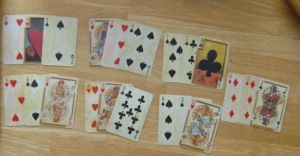Card Readers Handbook. 21 card layout with Jane Lyle's Fortune Telller Deck