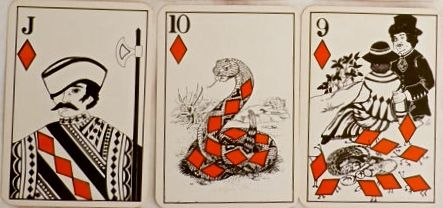 PALLADIN PLAYING CARDS