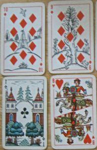 vintage Russian deck
