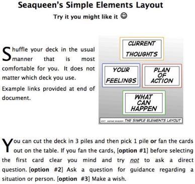 Elements Layout instructions