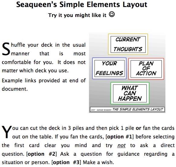 Elements Layout instructions
