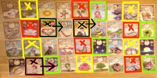 Counting 7's. Magisches Lenormand.
