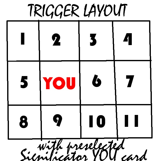 seaqueen's 12 card trigger layout