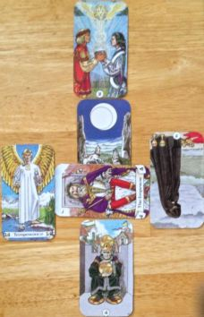 Work question. Robin Wood Tarot. Feb 23-15