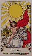Robin Wood Sun card