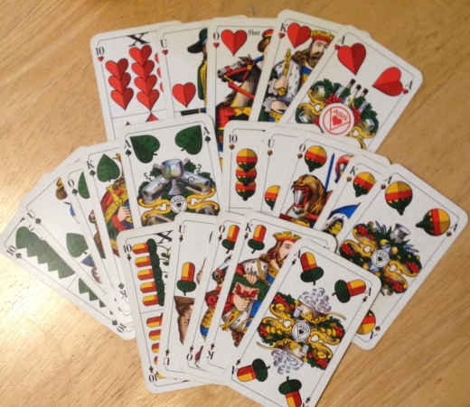 Game of Snapsen 20 cards