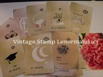 vintage stamp lenormand. kelly isara