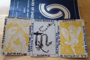 BUTTERFLIES + SCORPIO + ANGEL OF AUTUMN