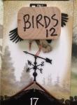 5 stork in birds house