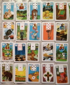 left side of 9x4 Lenormand GT