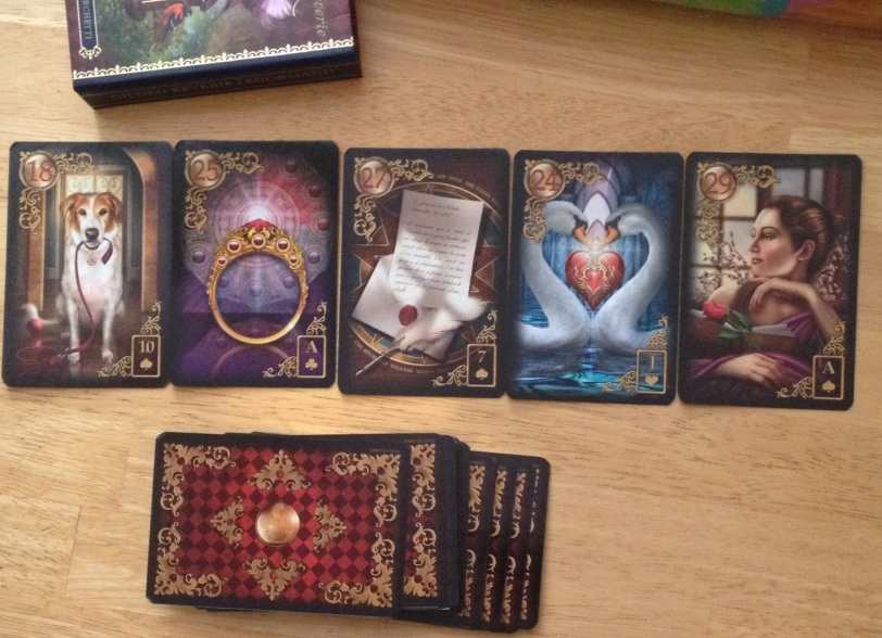 Gilded Reverie Lenormand by Ciro Marchetti. Jan 22.16