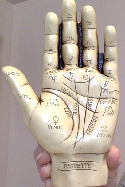 David Lawrence Palmistry hand - 1