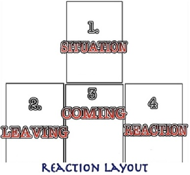 Seaqueen's 4 card reaction layout